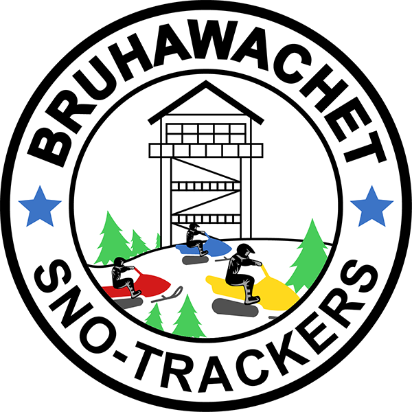 The Bruhawachet snowmobile club